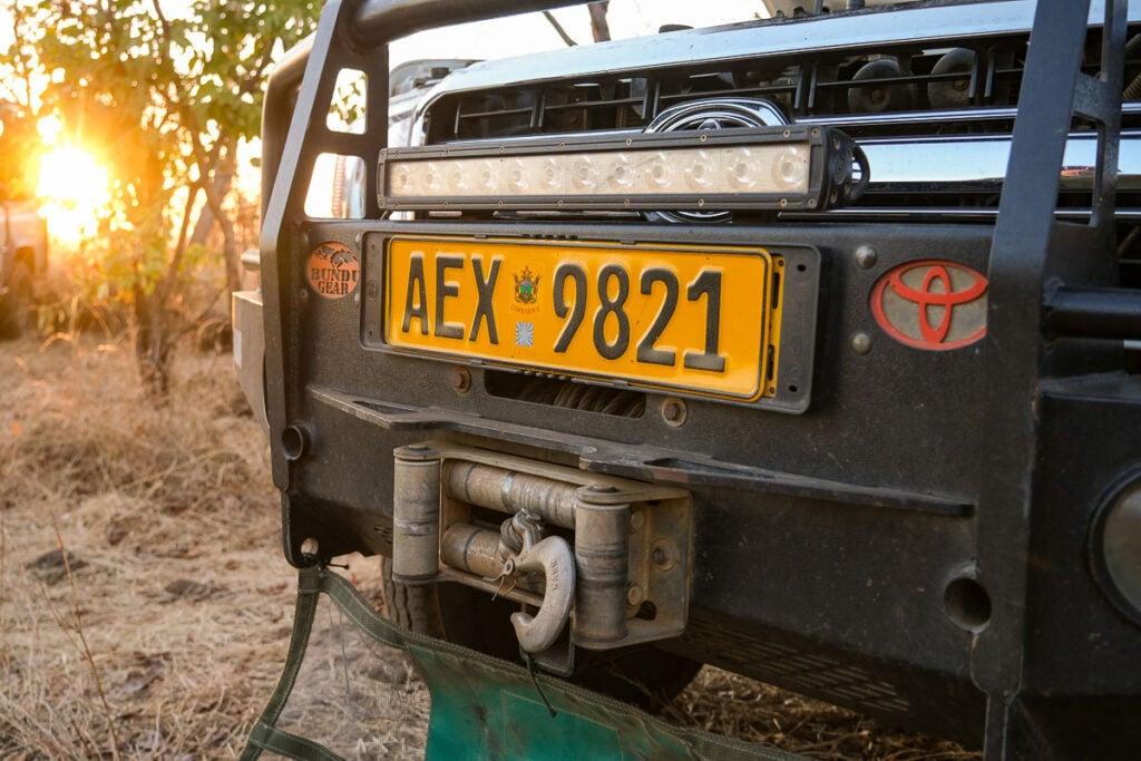 safari truck bumper