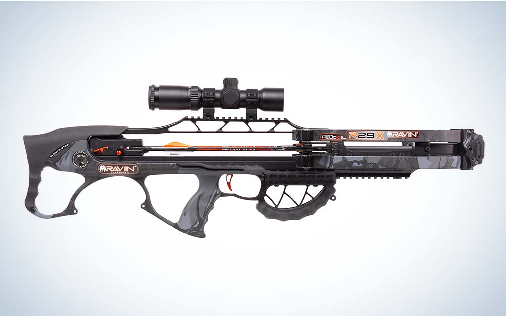 The Ravin R29X the best crossbow.