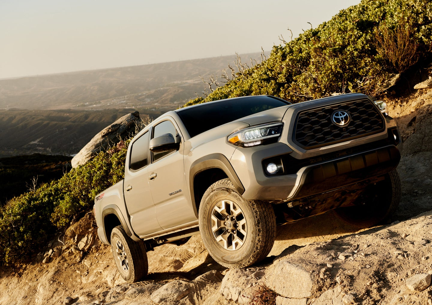 The Tacoma has a low tow and payload capacity rating.