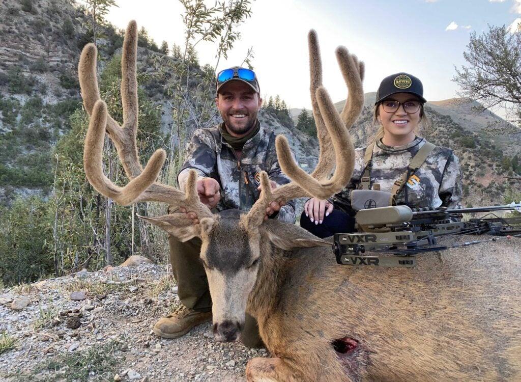 Giant 200-Inch Velvet Mule Deer Buck Taken in Utah