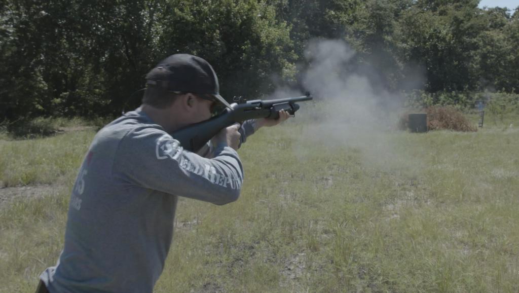 The M3 is a multi-use shotgun.