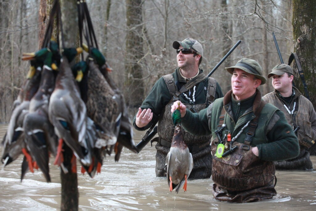 Arkansas hunters will be more dpeednet on timely rainfall this season.