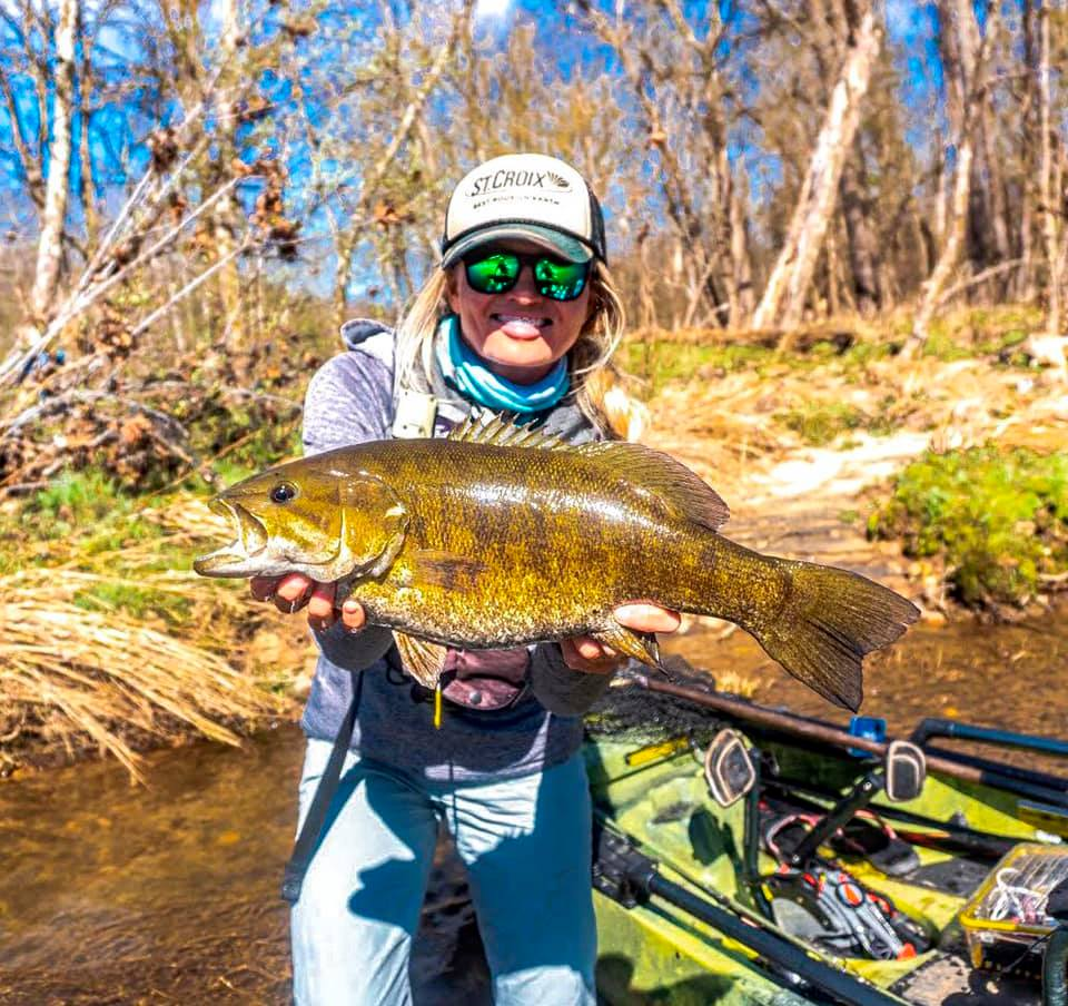 The author targets small water for big bass.