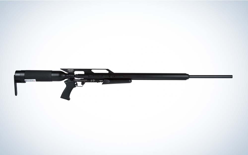 A black AirForce Texan air rifle