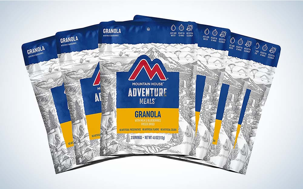 Mountain House Granola is the best survival food.
