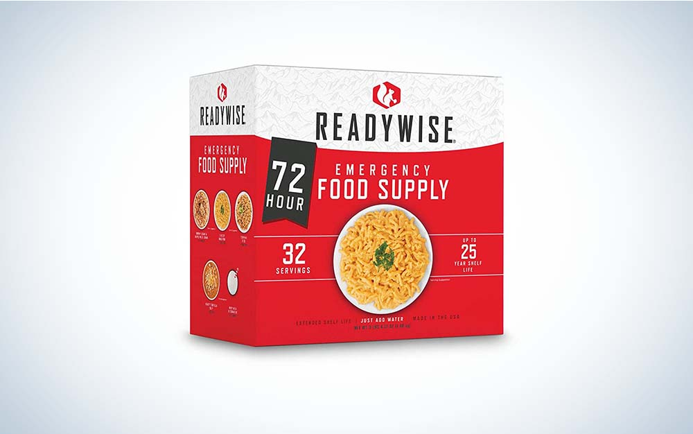 ReadyWise meals are the best survival food.
