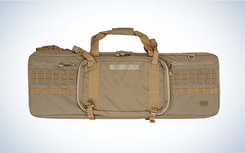 The 5.11 Tactical is the best gun case.
