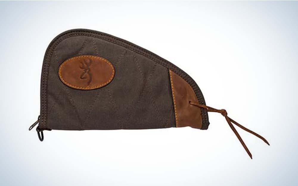The Browning Pistol Rug is the best gun case.