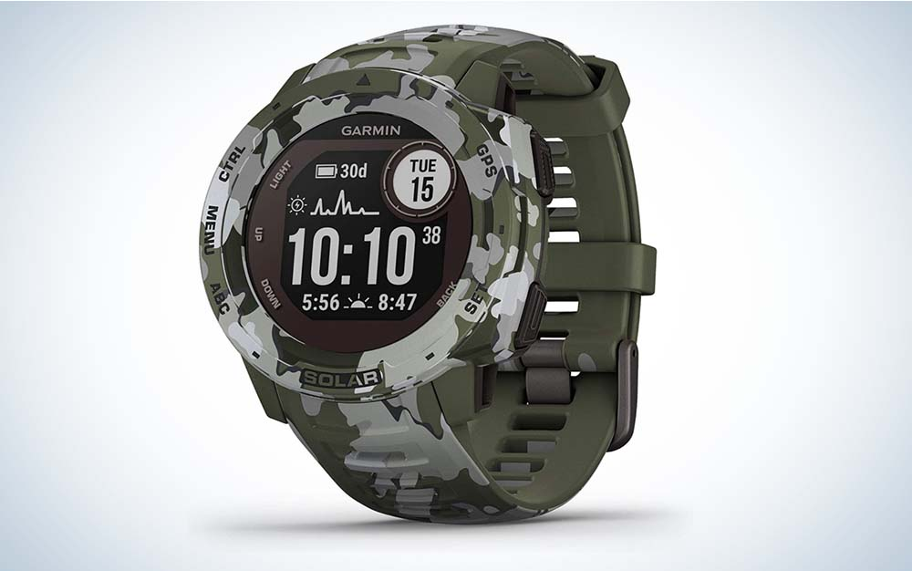 The Garmin Instinct Solar is our pick for best sport watches.