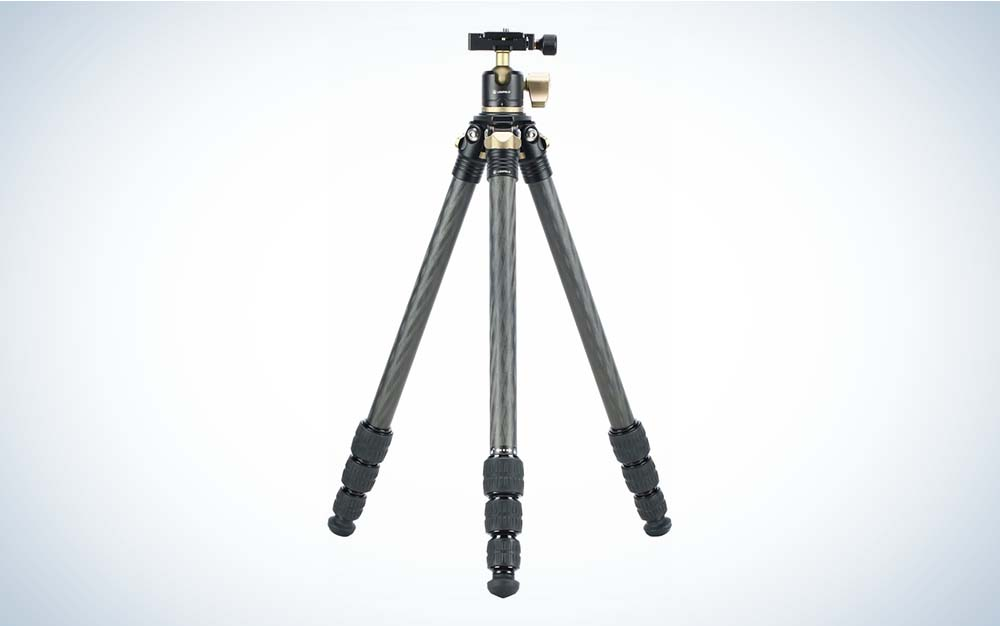 New tripods include the Leupold Alpine.