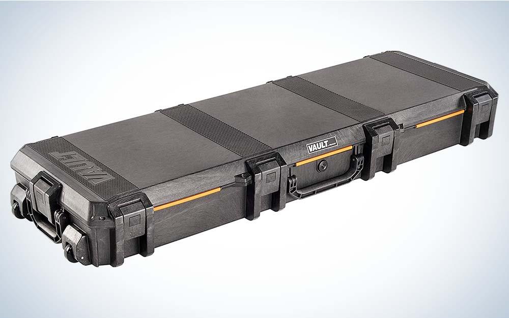 The Pelican Vault is the best gun case.