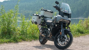 The Pan America 1250 is a smooth ride.