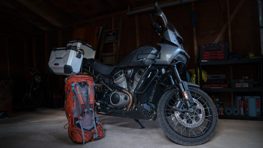 Harley-Davidson's first adventure motorcycle is the Pan America 1250