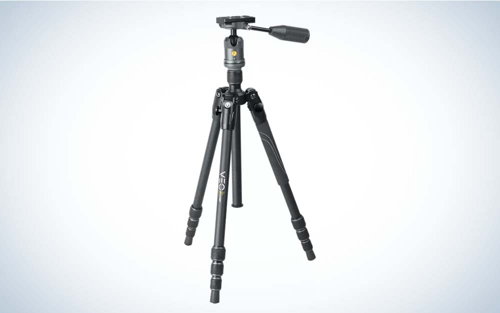 New tripods include the Vanguard Veo 3.