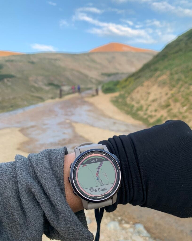 Garmin Fenix 6s GPS feature