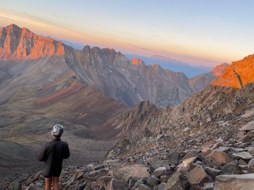 Garmin Fenix gps smartwatch helps navigate in mountains
