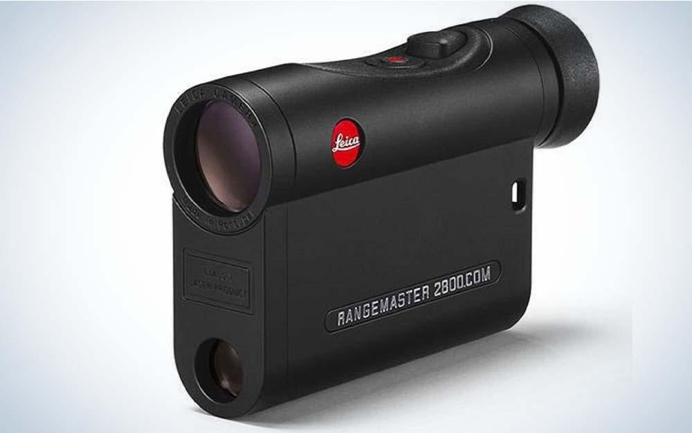 A black Lecia CRF Rangemaster 2800.COM