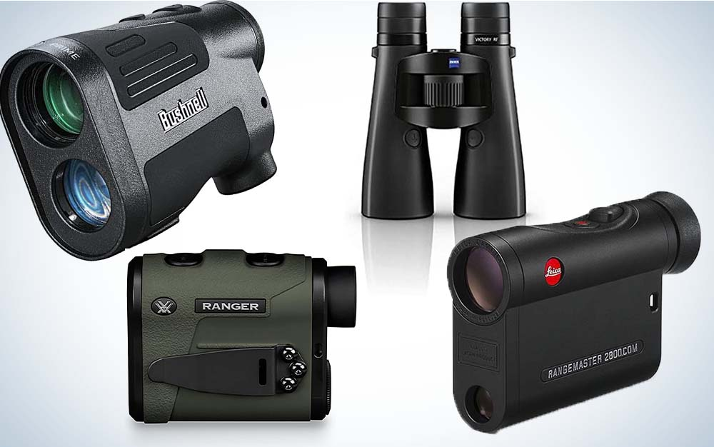 A collage of rangefinders