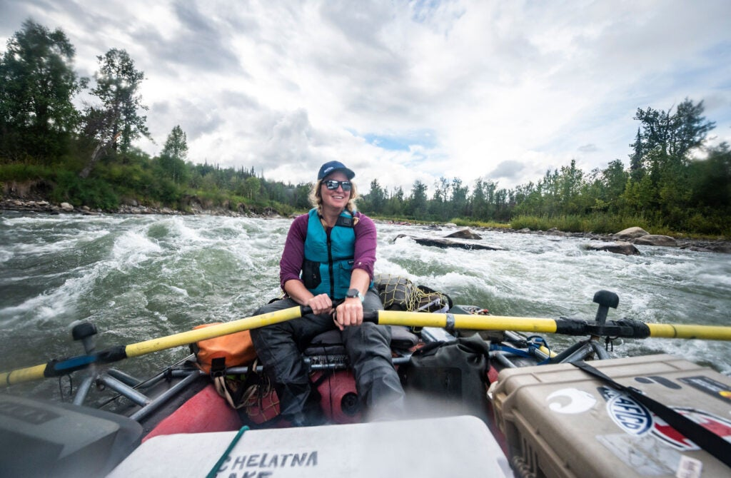 Whitewater rapids in Alaska on an underrated river.