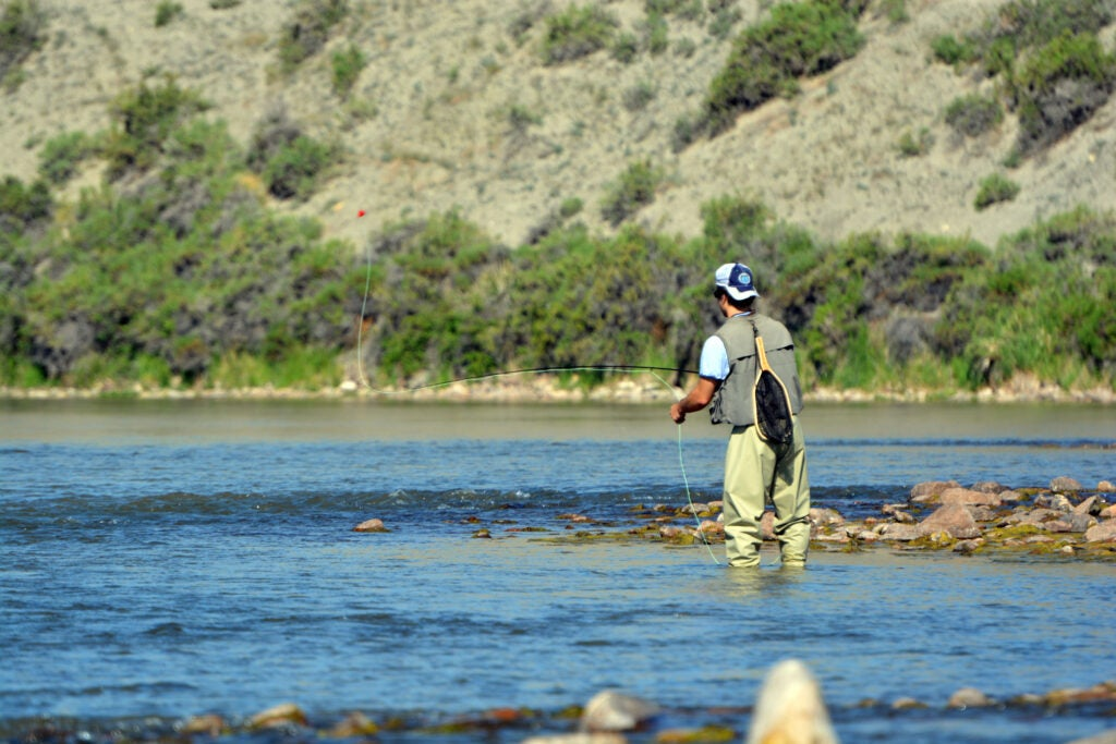 Trout fishing creates tourism and industry, which is also threatened by hot conditions.