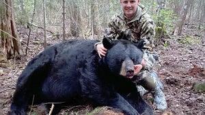 An Ontario Bowhunter Needed His Backup Rifle to Take This 800-Pound Black Bear