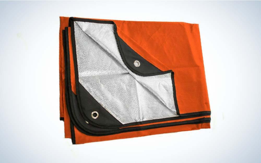 This Arcturus blanket is the best emergency blanket.