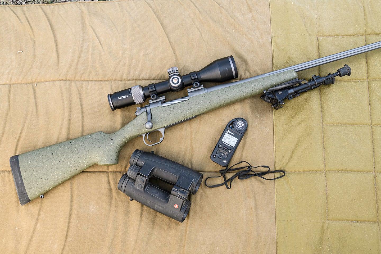Maven optics and shooting gear