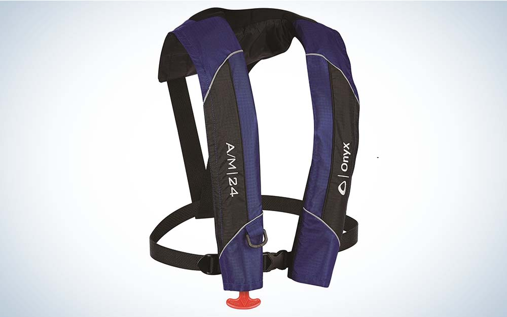 The Onyx life vest is the best life jacket.