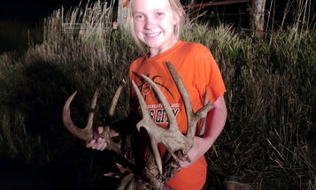 This 10-Year-Old Made a 200-Yard Shot on a 200-Inch Deer for Her First Kansas Buck