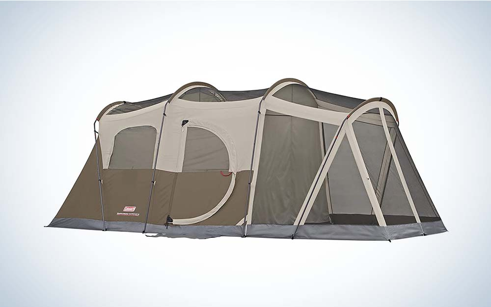Coleman Weathermaster is the best family tent.