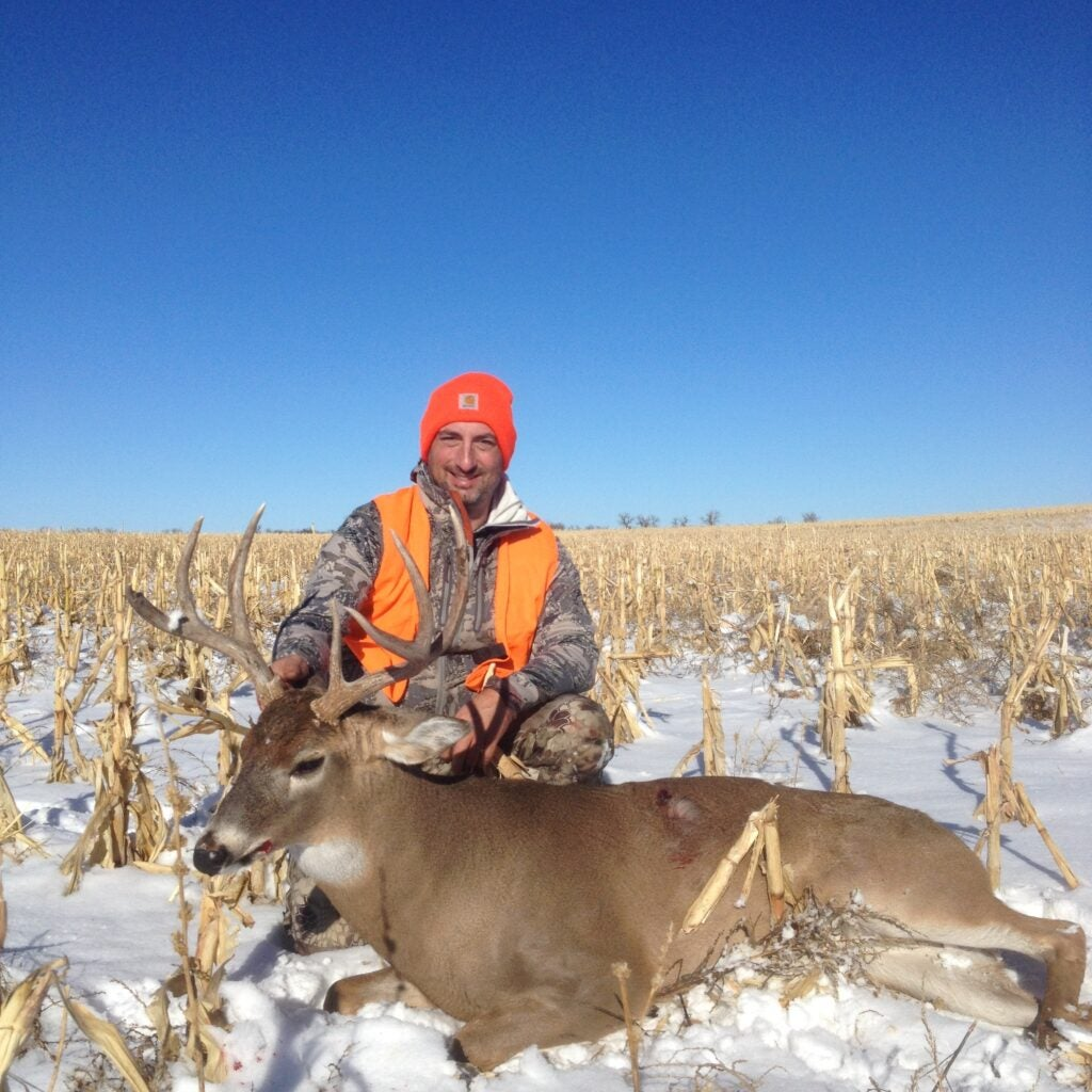 Outdoor Life shooting editor John Snow shot this buck late season in Nebraska.