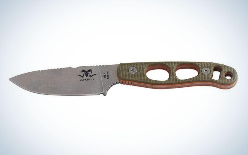 Argali Serac is the best backcountry skinning knife.