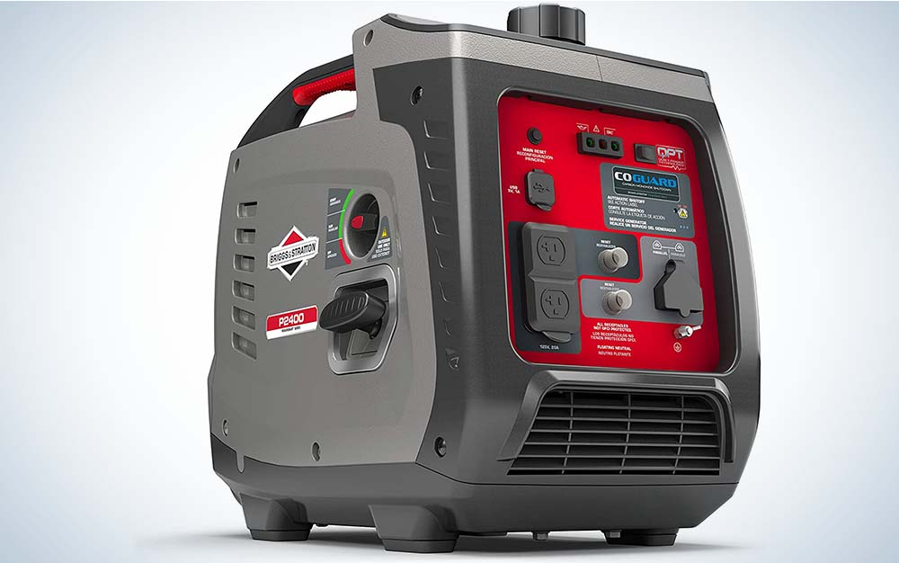 The Briggs Stratton is our pick for the best portable generator.