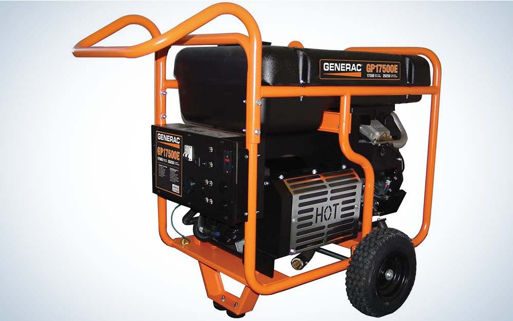 The Generac is our pick for best portable generator.