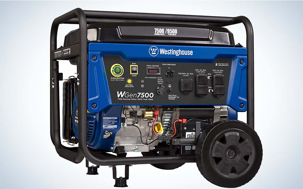 The Westing House is our pick for best portable generator.