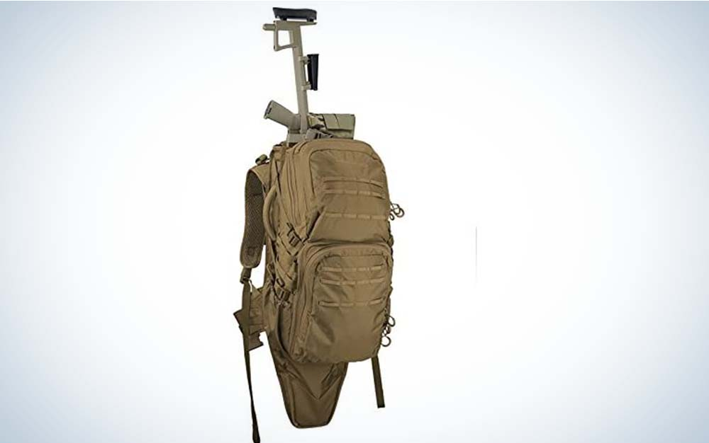Eberlestock Lo Drag II is our pick for the best bug out bag.