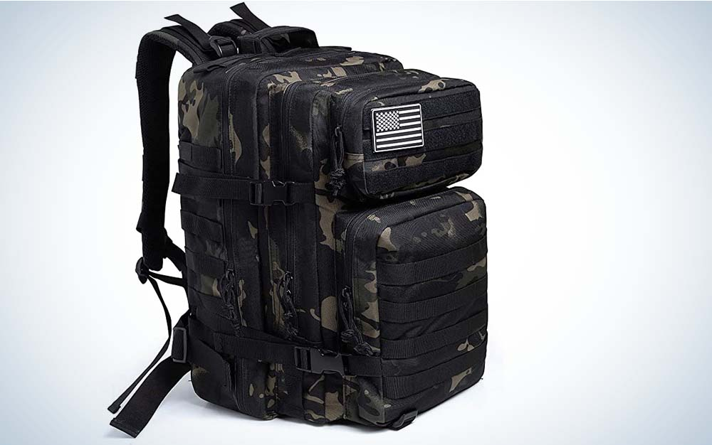 QTQY is our pick for the best bug out bag.