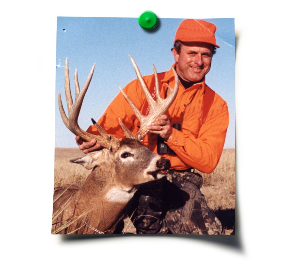 A baby boomer with a big buck in the 90s.