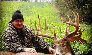 Ohio Crossbow Hunter Tags a Monster Non-Typical Buck Scoring Nearly 200 Inches
