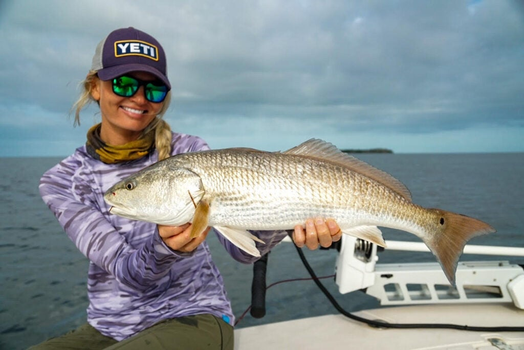 Red fish are a truely unique species to target.