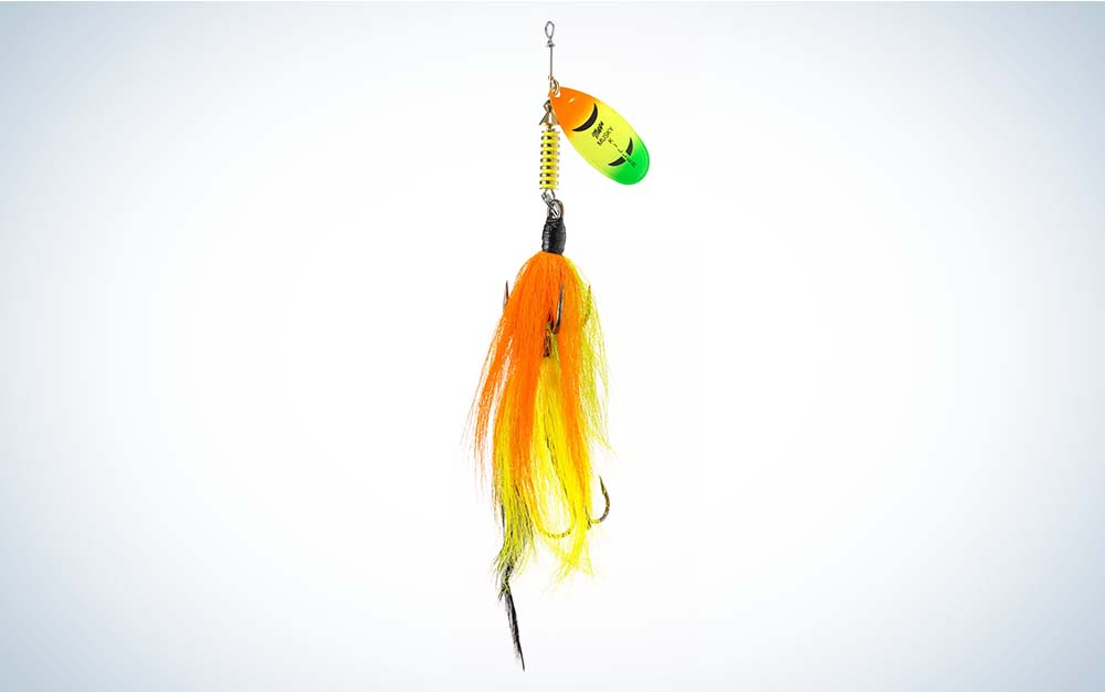 Mepps Tandem is the best musky lure.