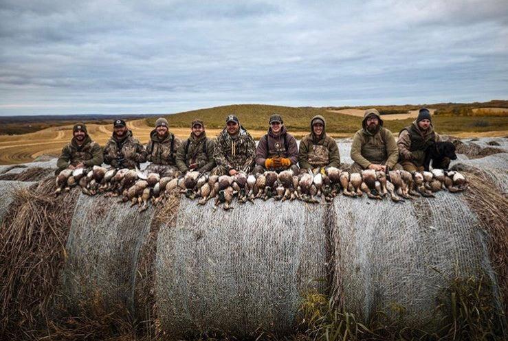 A 10-man limit in western Alberta.