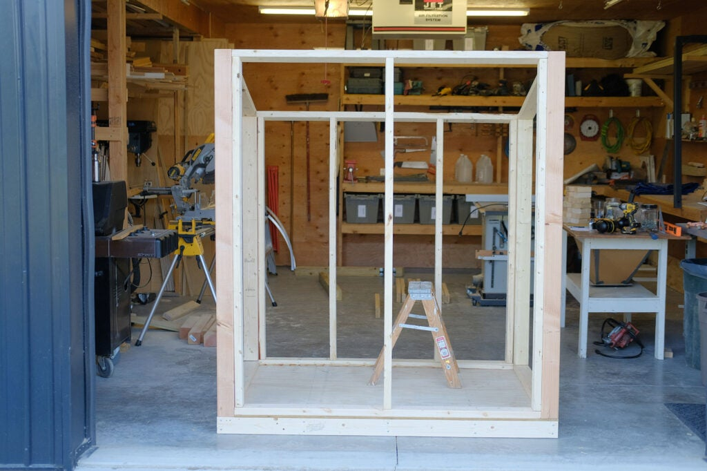 framed walls