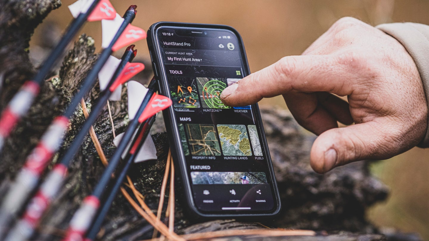 HuntStand is a useful app for hunters of all kinds.