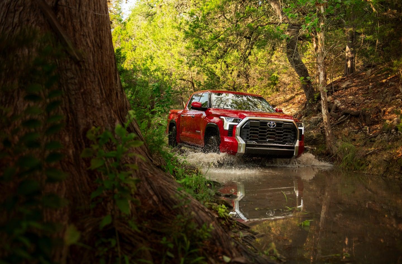 Toyota finally upgrades the Tundra.