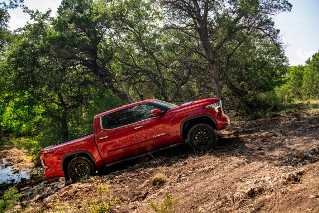 The tundra is a solid choice if you want the best all-around capability in a truck.