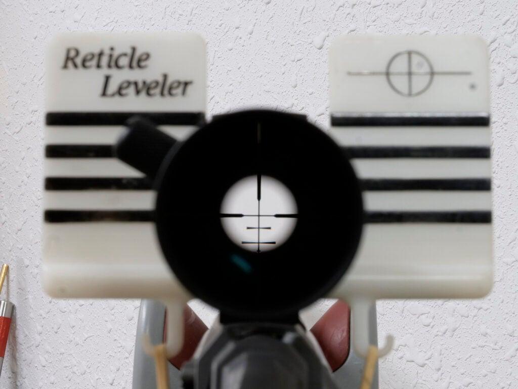 riflescope leveling