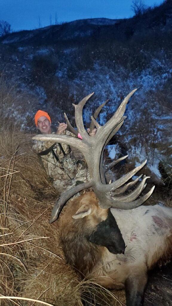Elk Hunter Tags Massive 440″ Bull on Standing Rock Reservation in North Dakota