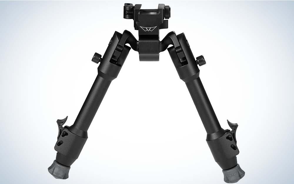 A black bipod