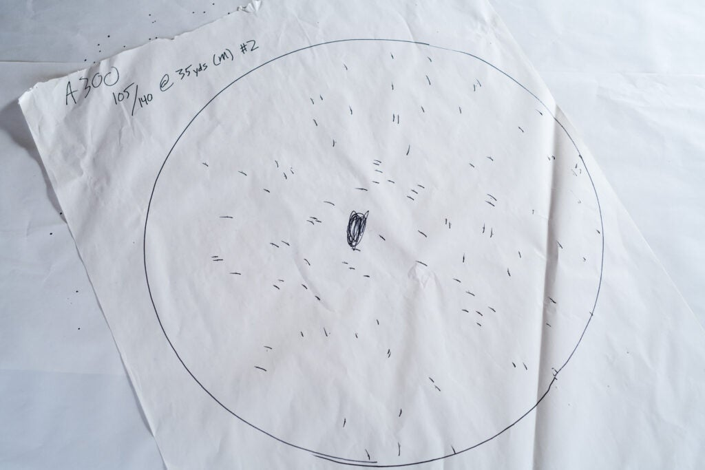 Beretta A300 duck hunting shotgun pattern